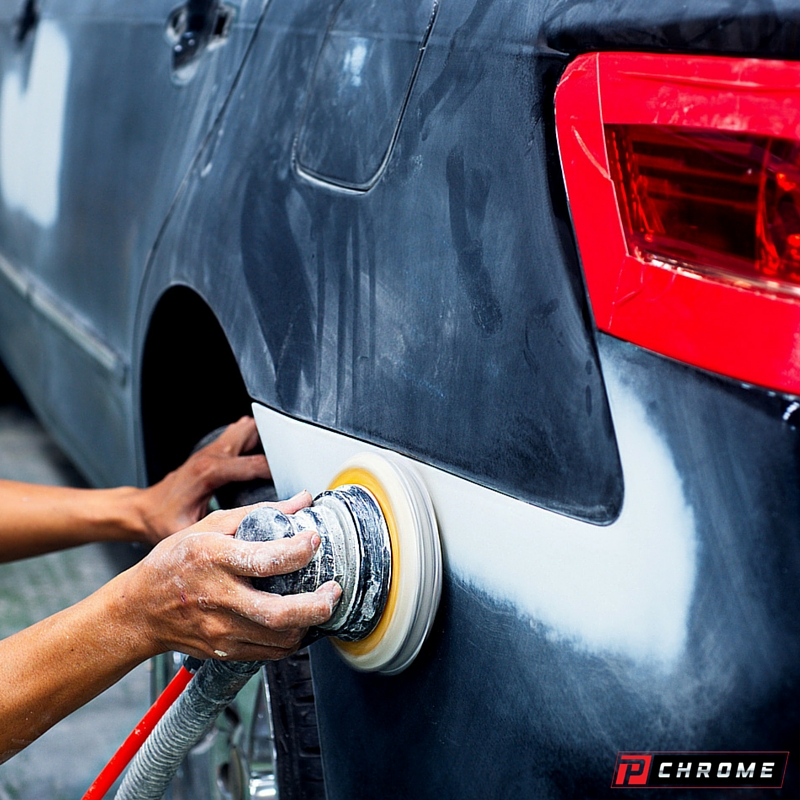Preparing your car for spray chrome