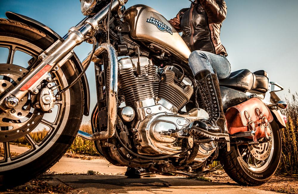 Spray Chrome For Chrome Motorcycle Restoration