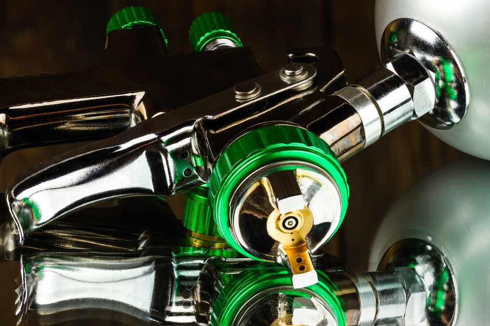 PAINT GUNS AND CHROME PLATING DISCOVERIES