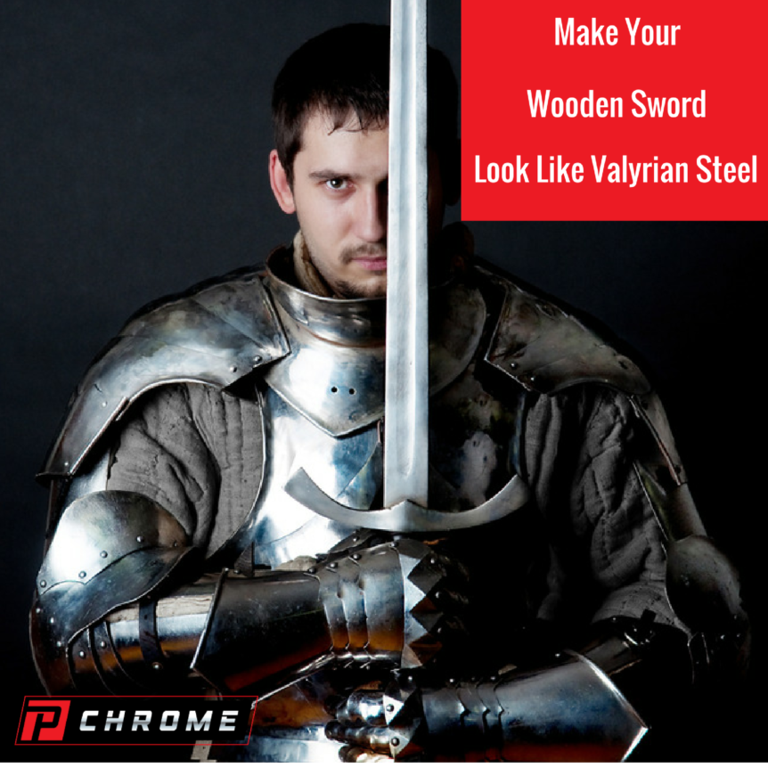 Make Your Wooden Sword Look Like Valyrian Steel