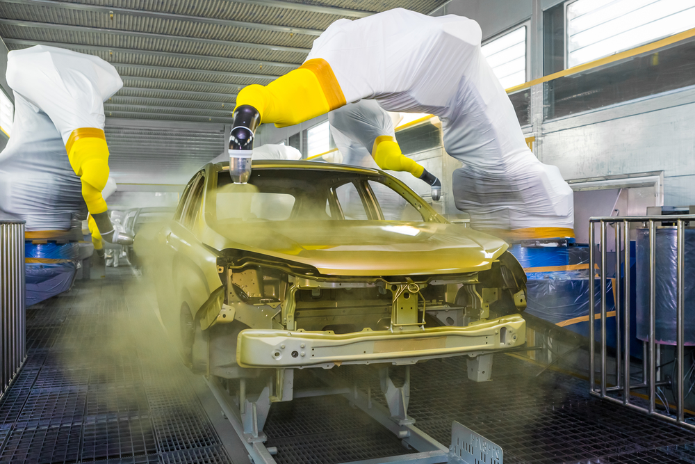 Spray Chrome For Industrial Paint Applications