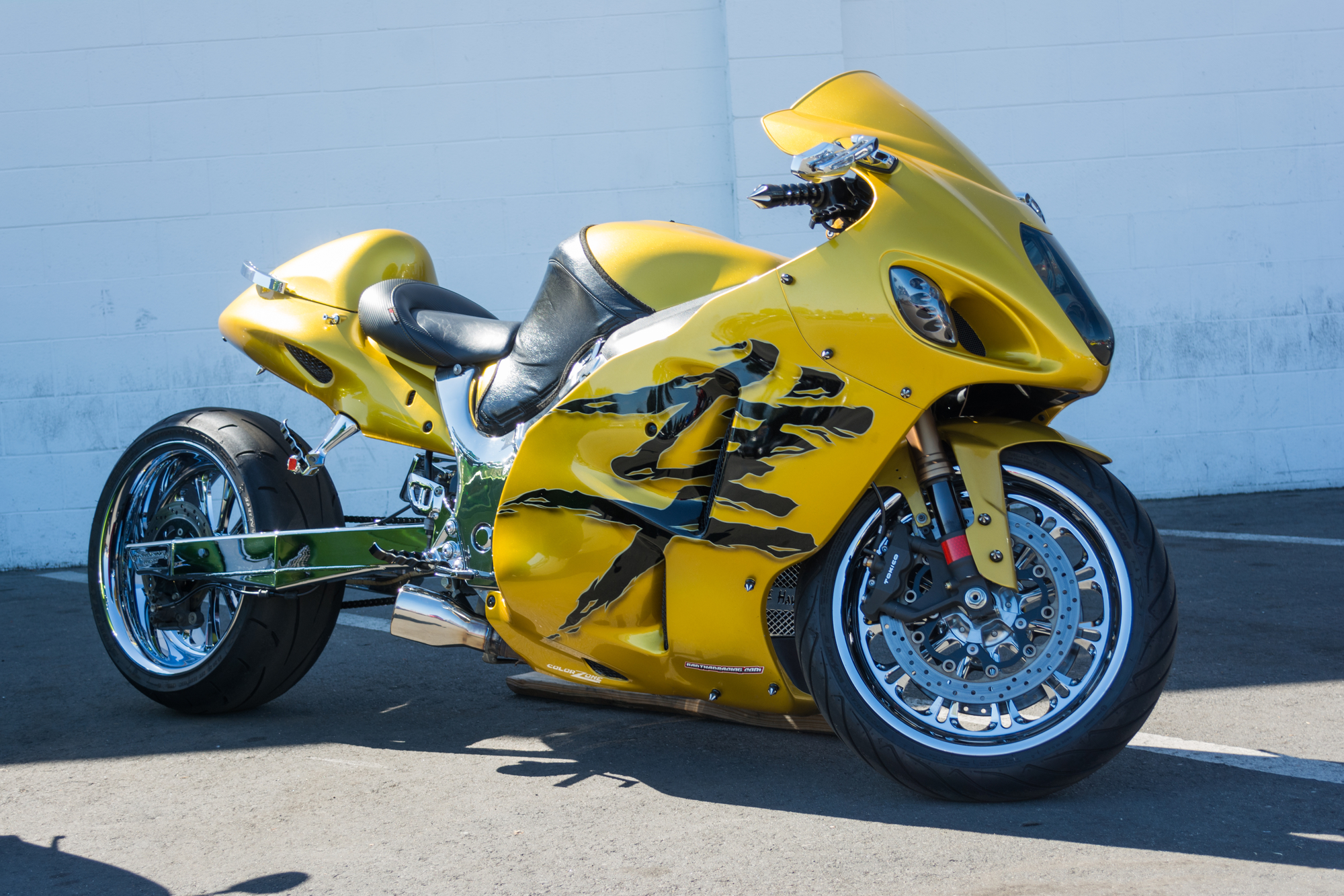 Spray Chrome For Motorcycle Shops