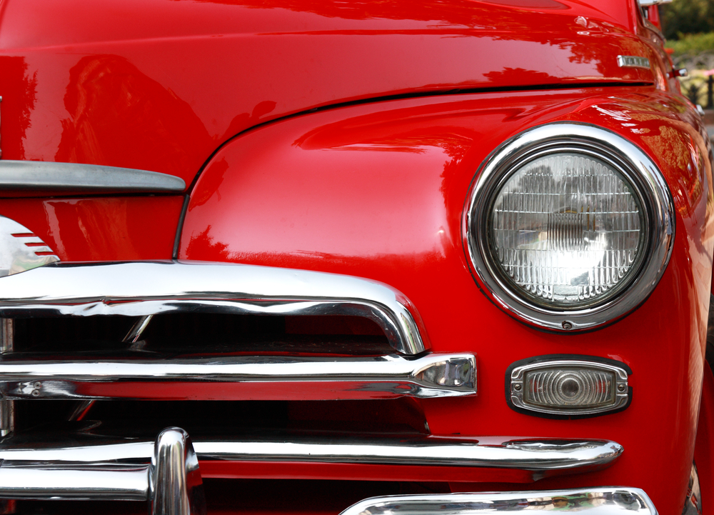 Spray Chrome For Chrome Classic Car Restoration