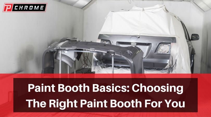 Paint Booth Basics, Choosing The Right Paint Booth For You